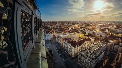Plzeň, město, kde je kolo doma