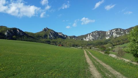 Adrenalin na kole v okolí Súľovských skal