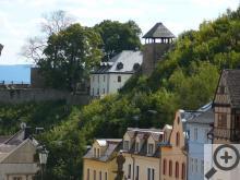 Na troskách hradu Krupka dnes stojí příjemná hospůdka