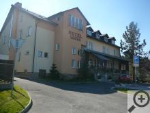 Hotel Sádek, příjemné posezení, hezké výhledy, dobrá kuchyně