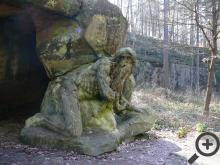 Jedna z mnoha Braunových soch