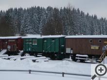 Vagóny na nejkratší mezinárodní železnici