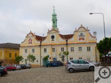 Kašperské Hory, budova radnice
