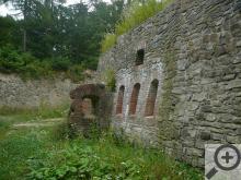 Zbytky jedné ze čtyř přístupných fortových pevností obranného systému Císařsko-královské olomoucké pevnosti z roku 1876