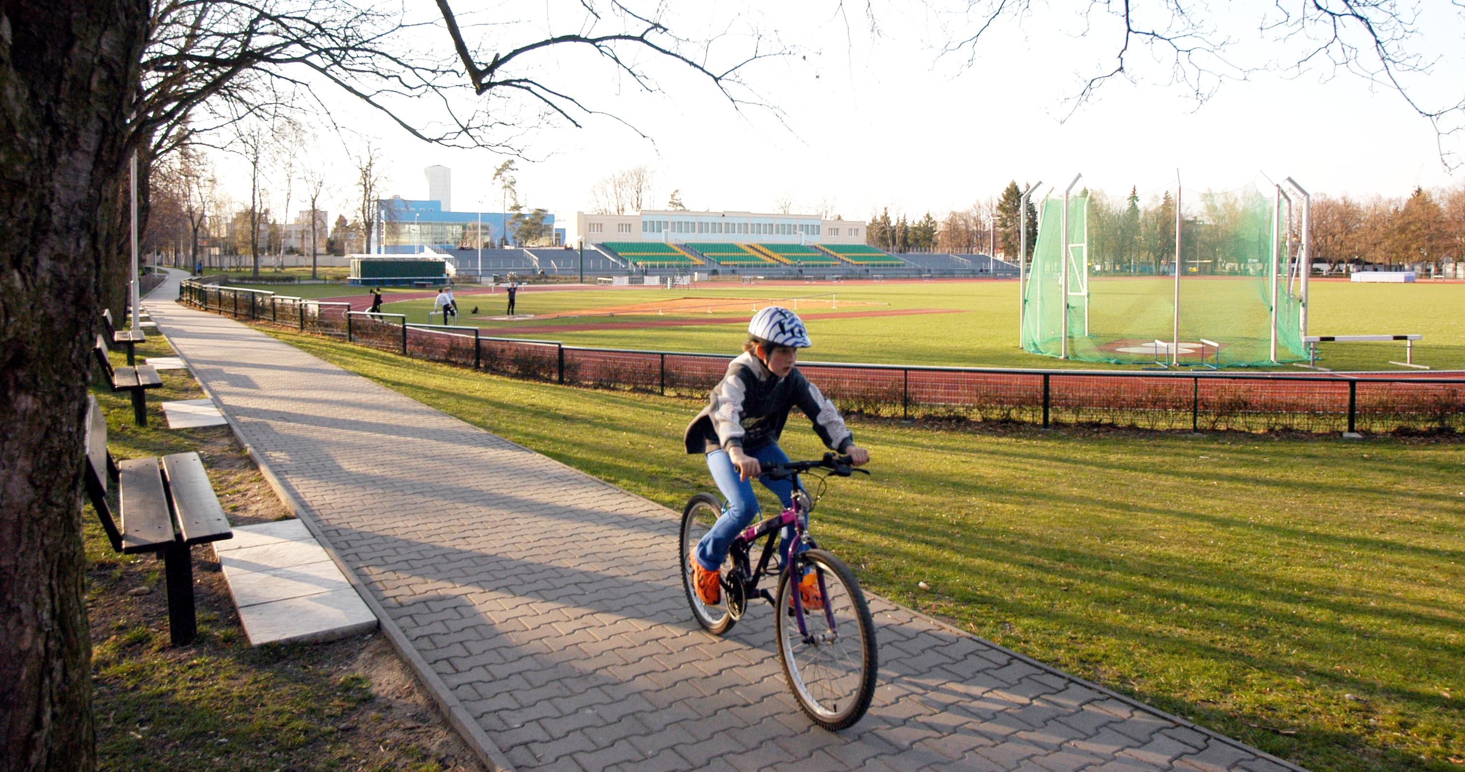 Sportovní areály města Kladna