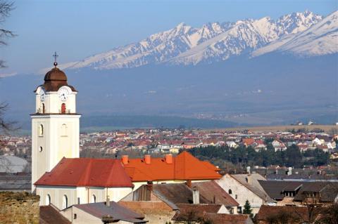 Regiónom Poprad - Tatry