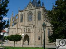 Katedrálu sv. Barbory zná s fotek asi každý