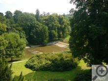 K zámku Žleby patří i nádherná obora