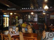 Restaurace Rejvíz a její slavné židle