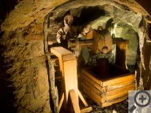 V Muzeu Českého stříbra můžete spatřit ukázky technologie dobývání a zpracování stříbra