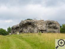 Jedna z pevností z Naučné stezky Po opevnění Běloves