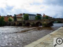 Nejstarší most v Čechách z profilu